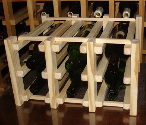 counter wine racks