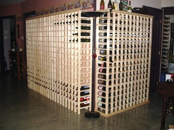 Large and tall Wine Racks